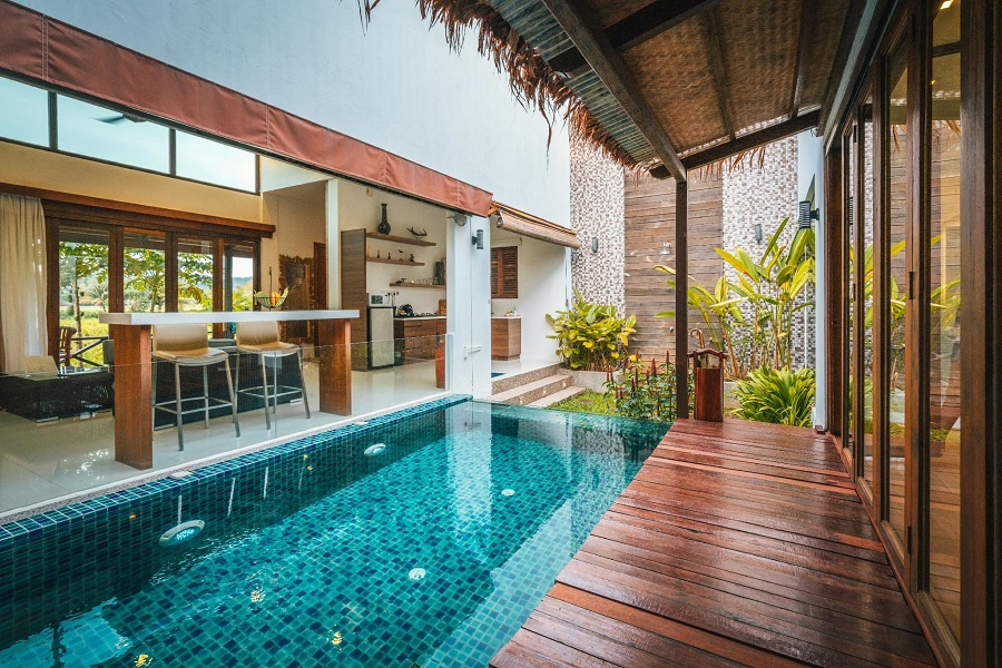 The La Villa in Langkawi with Private Pool Honeymoon Package 3 days 2 nights