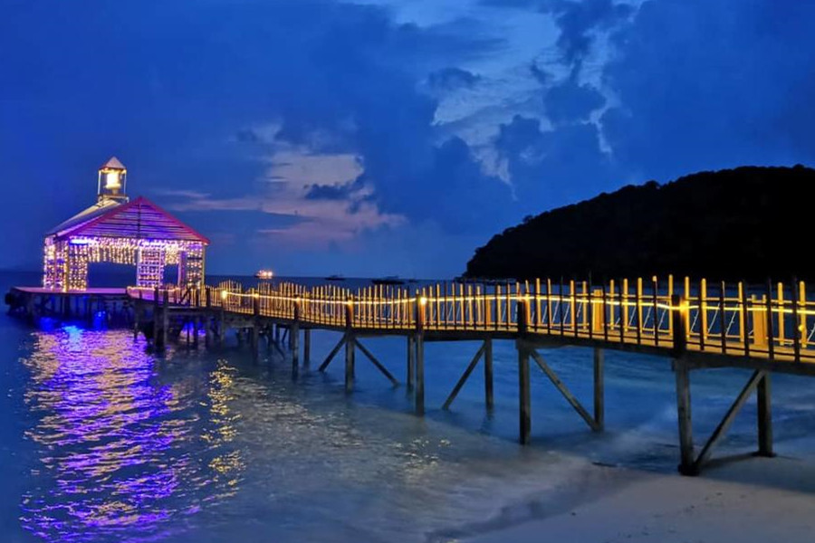 Sari Pacifica Lang Tengah Snorkeling 3 Days 2 Nights
