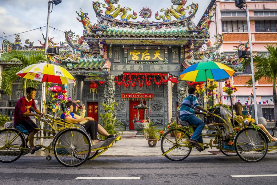 Penang Day Trip | Air Hitam + Georgetown in a day
